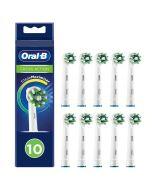 Oral-b Crossaction Vaihtoharja Cleanmaximiser 10 Kpl