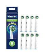 Oral-b Crossaction Vaihtoharja Cleanmaximiser 8 Kpl