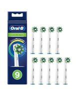 Oral-b Crossaction Vaihtoharja Cleanmaximiser 9 Kpl