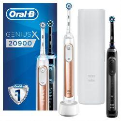 Oral-b Genius X 20900duo Sähköhammasharja Tuplarunko