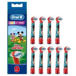 Oral-b Kids Mikki Hiiri Vaihtoharja 9 Kpl