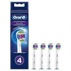 Oral-b 3d White Vaihtoharja Cleanmaximiser 4 Kpl