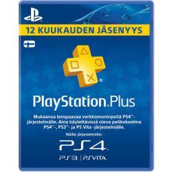 Playstation Plus 12 Kk Jäsenyys