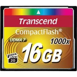 Transcend 16gb 1000* Cf-muistikortti