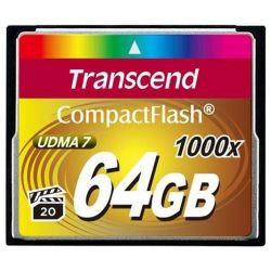 Transcend 64gb 1000* Cf-muistikortti