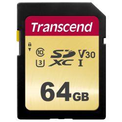 Transcend 64gb Uhs-i U3 Sd-