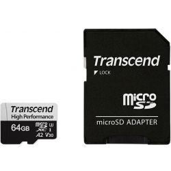 Transcend 330s Microsdxc 64gb Muistikortti