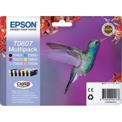 Epson T0807 Multipack Väri-