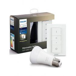 Philips Hue Led-älylamppu+himmennin E27