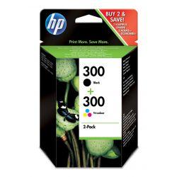 Hp 300 Combo-pack, Black/tri-