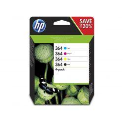 Hp No364 B/c/m/y Ink Cartridge