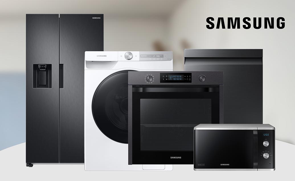 Tyylikkäät Samsung kodinkoneet