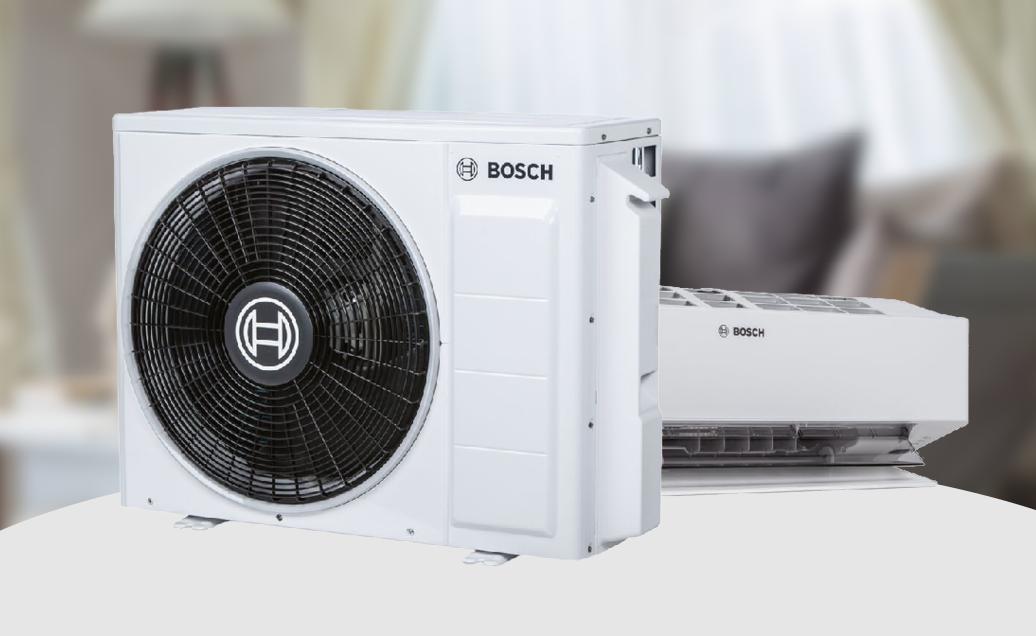 Bosch ilmalämpöpumput